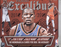 2015/16 Panini Excalibur Basketball Hobby Box