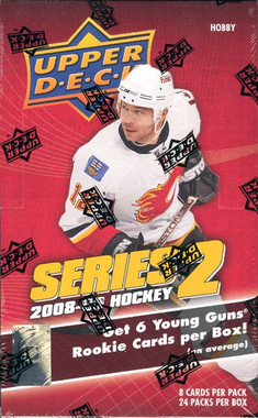 2008/09 Upper Deck Series 2 Hockey Hobby Box