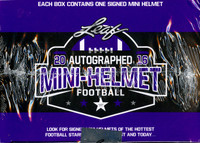 2016 Leaf Autographed Mini Helmet Football Box