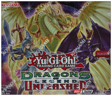 Yugioh Dragons of Legend Unleashed 1st Ed Booster Box