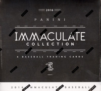 2016 Panini Immaculate Baseball Hobby Box
