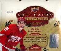 2016/17 Upper Deck Artifacts Hockey Hobby Box