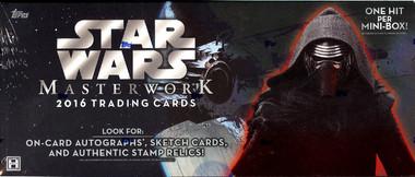 2016 Topps Star Wars Masterwork Hobby Box