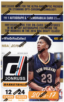 2016/17 Panini Donruss Basketball Hobby Box