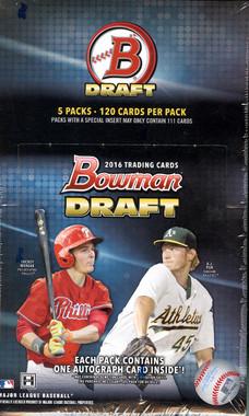 2016 Bowman Draft Picks & Prospects Baseball Super Jumbo Box