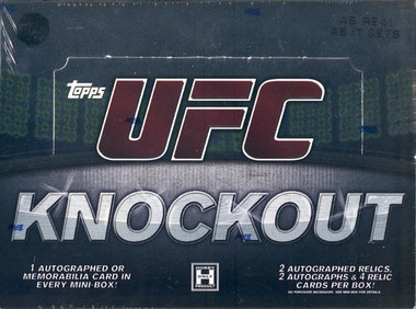 2010 Topps UFC Knockout Hobby Box