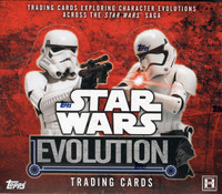 2016 Topps Star Wars Evolution Hobby Box