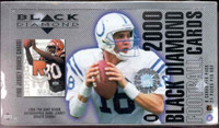 2000 Upper Deck Black DiamondFootball Hobby Box