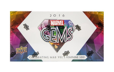 2016 Upper Deck Marvel Gems Trading Cards Hobby Box