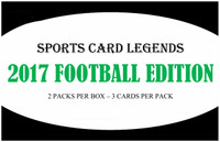 Sports Card Legends 2017 Football Edition Hobby Box
