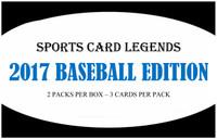 Sports Card Legends 2017 Baseball Edition Hobby Box