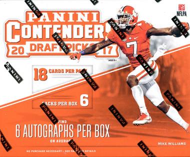 2017 Panini Contenders Draft Picks Football Hobby Box