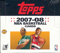 2007/08 Topps Basketball Jumbo HTA Box