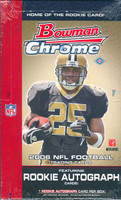 2006 Bowman Chrome Football Hobby Box
