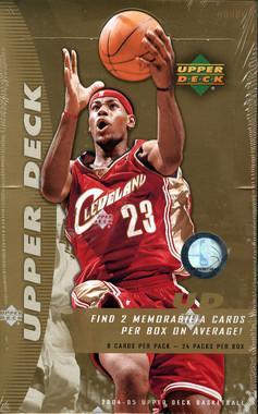 2004/05 Upper Deck Basketball Hobby Box