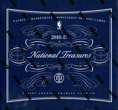 2016/17 Panini National Treasures Basketball Hobby Box