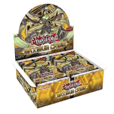 Yugioh Maximum Crisis 1st Edition Booster Box