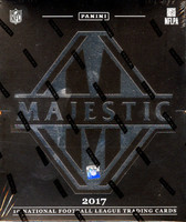 2017 Panini Majestic Football Hobby Box