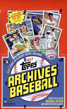 2017 Topps Archives Baseball Hobby Box