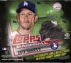 2017 Topps Series 2 Baseball Jumbo HTA Box + 2 Silver Packs