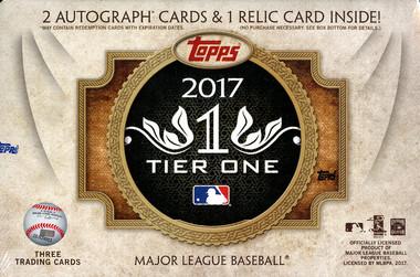 2017 Topps Tier One Baseball Hobby Box