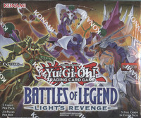 Yugioh Battles of Legend Light's Revenge Booster Box