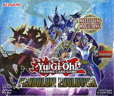 Yugioh Pendulum Evolution 1st Edition Booster Box