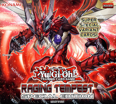 Yugioh Raging Tempest Special Edition Box