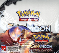 Pokemon Sun & Moon Burning Shadows Booster 6 Box Case