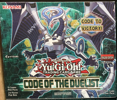 Yugioh Code of the Duelist 1st Edition Booster Box