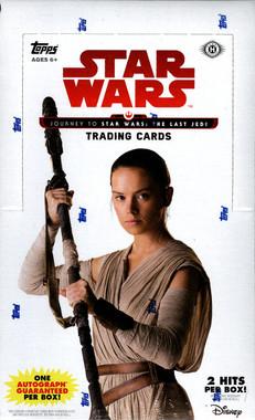 Topps Star Wars Journey To The Last Jedi Hobby Box