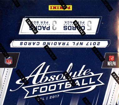 2017 Panini Absolute Football Hobby Box