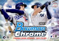 2017 Bowman Chrome Baseball HTA Choice Box