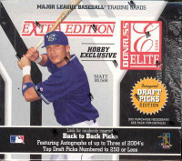 2004 Donruss Elite Extra Edition Baseball Hobby Box