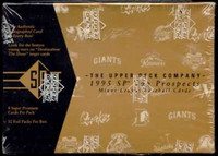 1995 Upper Deck SP Top Prospects Baseball Hobby Box