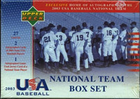 2003 Upper Deck Team USA Baseball Factory Set Box