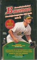 1999 Bowman Series 2 Baseball Hobby Box