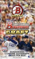 2017 Bowman Draft Baseball Super Jumbo Box