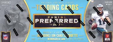 2017 Panini Preferred Football Hobby Box