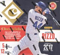 2017 Panini Chronicles Baseball Hobby Box