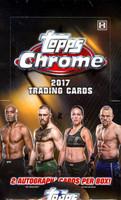 2017 Topps UFC Chrome Hobby Box
