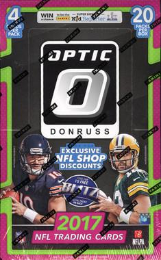 2017 Panini Donruss Optic Football Hobby Box