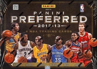2012/13 Panini Preferred Basketball Hobby Box