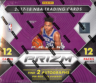 2017/18 Panini Prizm Basketball 12 Box Case