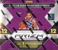 2017/18 Panini Prizm Basketball 12 Box Case