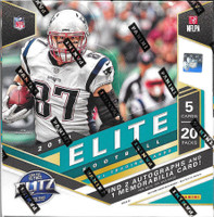 2018 Panini Donruss Elite Football Hobby Box