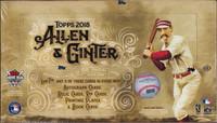 2018 Topps Allen & Ginter Baseball Hobby Box