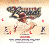 2008 Donruss Americana Sports Legends Hobby Box