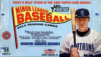 2014 Topps Heritage Minor League Ed Baseball Hobby Box