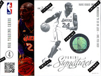 2012/13 Panini Signatures Basketball Hobby
